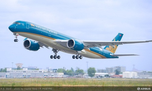 May bay moi cua Vietnam Airlines se bay mien phi